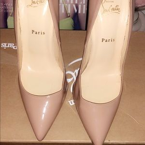 120 mm Nude Pigalle Red Bottoms